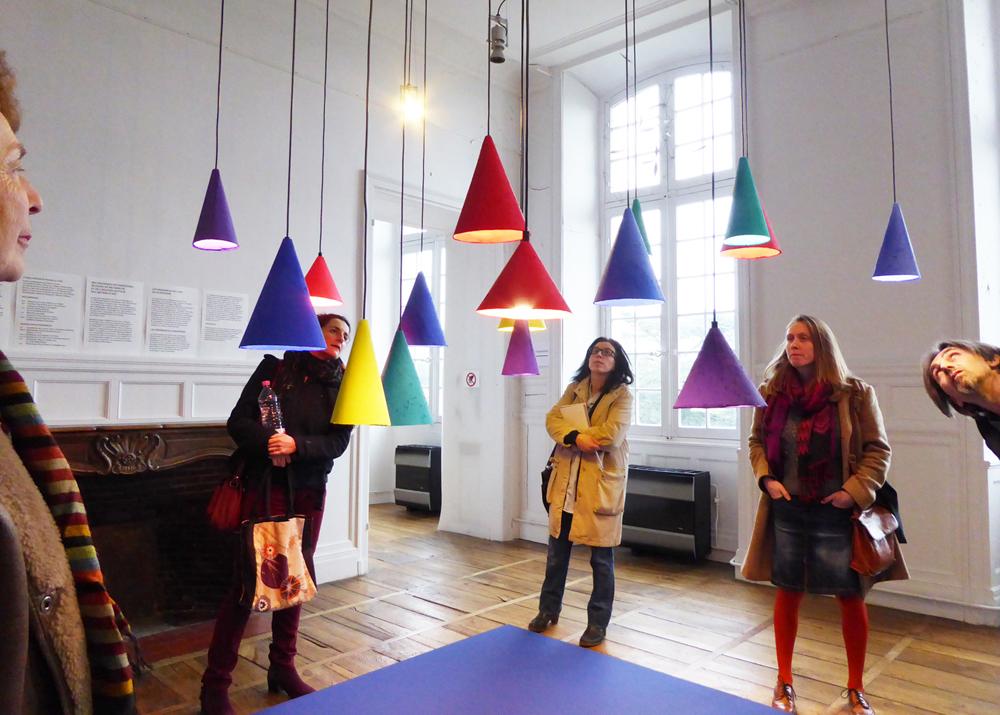Studio Monsieur designers - résidence au Pôle Expérimental des Métiers d'Art de Nontron, dans le cadre des résidences de l'Art en Dordogne - photo PEMA