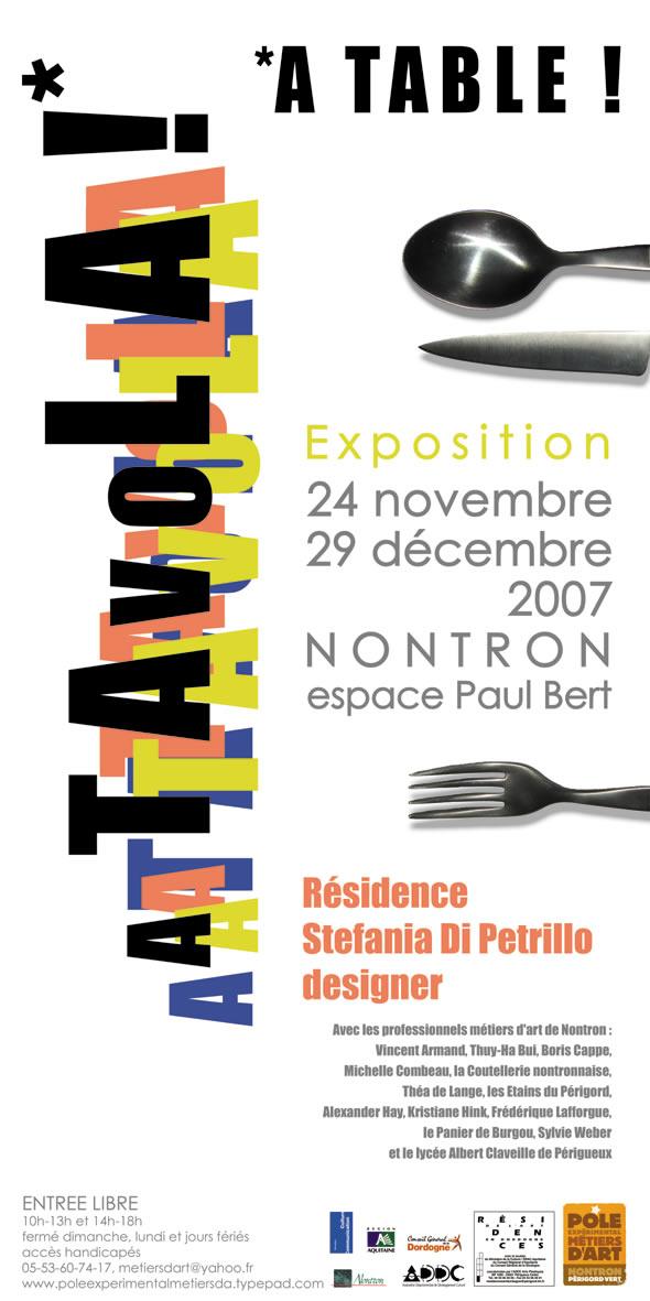 A Tavola !* / *A Table ! avec Stefania Di Petrillo.