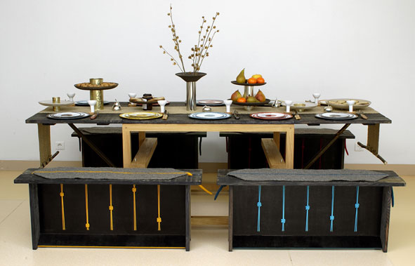 A Tavola ! : les secrets de la malle pique-nique design et métiers d'art…