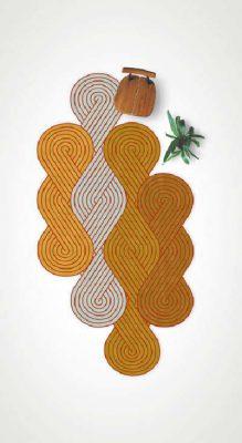 Tapis design Samuel Accoceberry