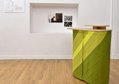 mobilier en structure bois