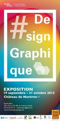 Affiche Exposition Design - Graphisme Pôle des métiers d'Art Nontron