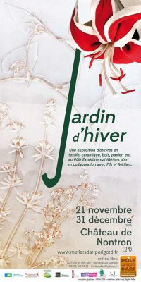 Affiche de Exposition jardin d'hiver Novembre Décembre 2015