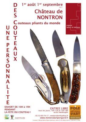 Exposition «Des couteaux, une personnalité» – Fête du Couteau 2017