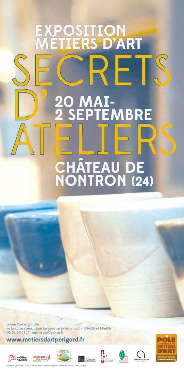 Secrets d'ateliers – exposition métiers d'art à Nontron