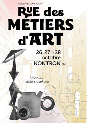 future affiche de Rue des Métiers d'Art 2018