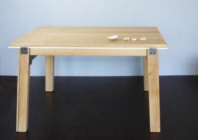 Alexander hay, ébéniste, création d'une table Design