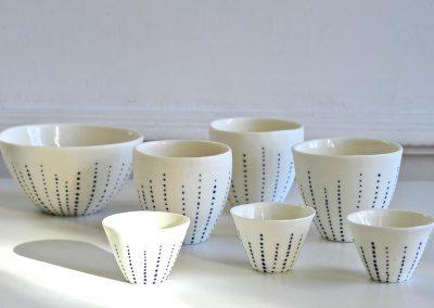 céramiques de Claire LECREUX, Atelier Mataguerre, photo JY Le Dorlot