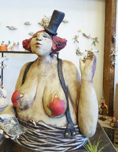 Claire Lepape céramique sculpture singulière