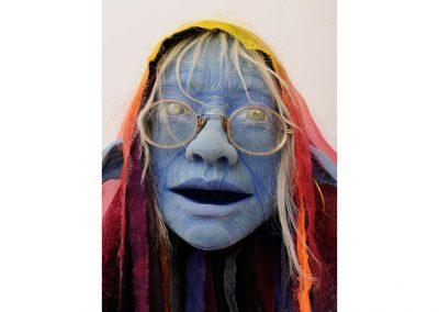 Marionnette en latex, autoportrait de Corine SIOT