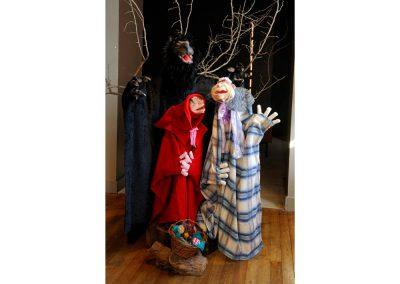 Corine SIOT, Les trois ratons laveurs, Marionnette Chaperon rouge