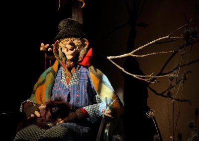 Marionnettes en latex créée par corine Siot
