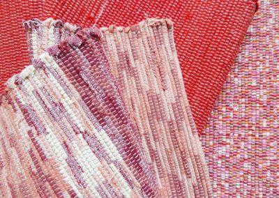 tissage de Laëtitia CHAMBRELENT, Tisserande lirette de saintonge