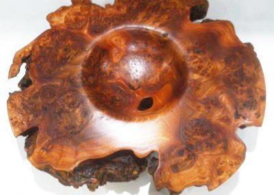 Lionel COCAIGN, Les créations de Nokuma, Tourneur et sculpteur sur bois,coupe sculptée