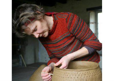 Ona VOLUNGEVICIUTE, Céramique, lituanie, tradition four enterré