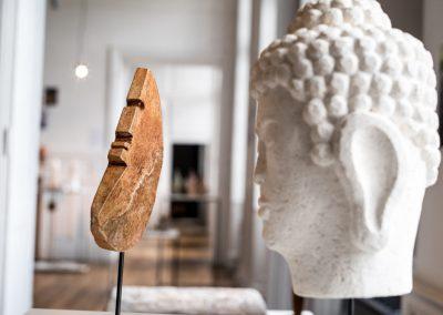 """""""Bouddha"""" de Pierre Carcauzon, photo JY Le Dorlot"""