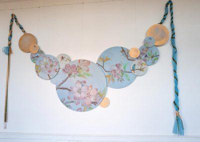 Sandrine RONGIER, Artelier Polychromies, Peintre en décor et émailleuse, Décor parure