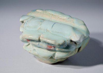 Serge COUSSERAN rocher en céramique et émail