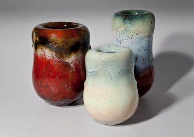 Serge COUSSERAN vase en céramique et émail
