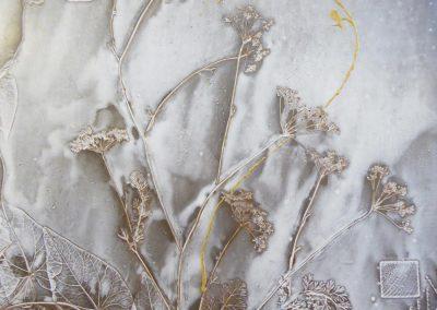 Céramique représentant une empreinte par Sylvie RUSE-MAILLARD, Céramiste