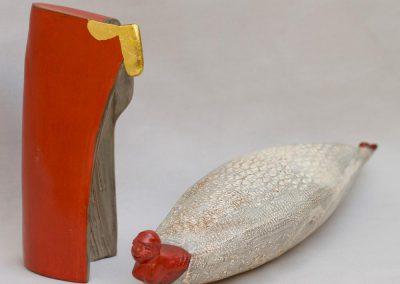 céramique en terre polie par Sylvie RUSE-MAILLARD, Céramiste