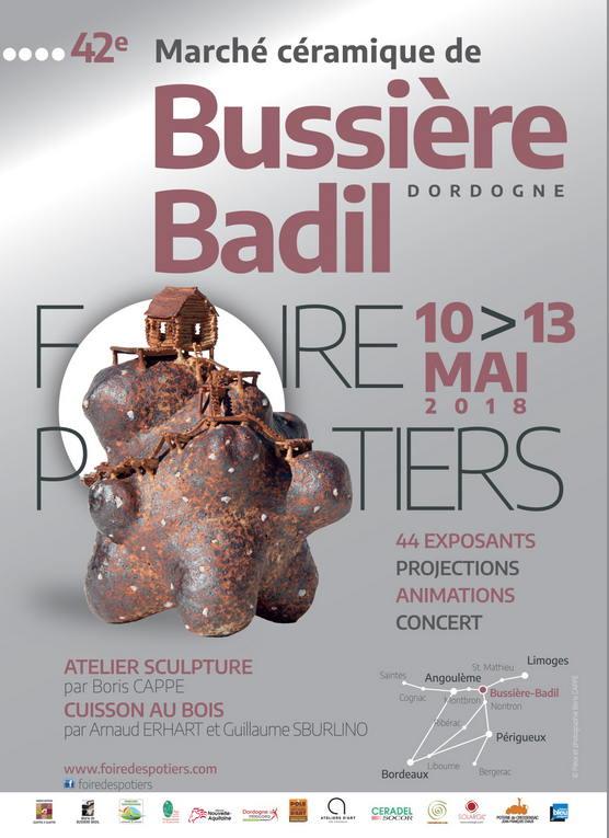 Foire des potiers à Bussière-Badil