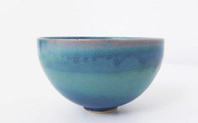 Bol en porcelaine Bleu de Cuivre