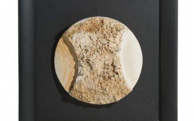 « Rencontre avec la Lune 240608 », calcaire de Brouchaud encadré