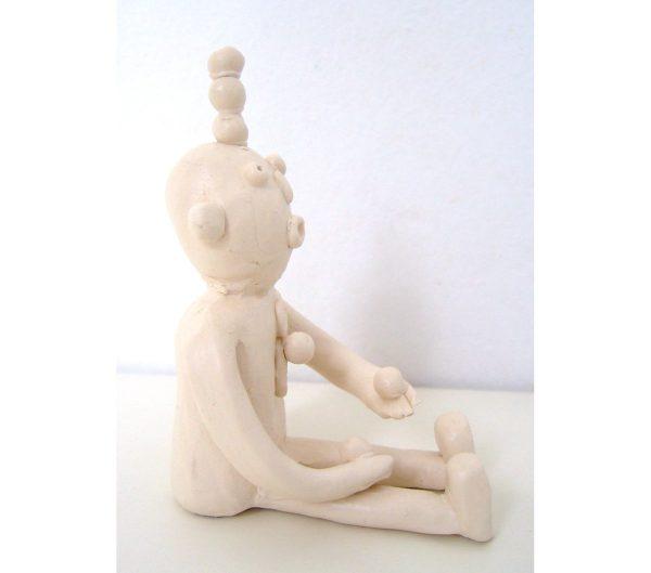 """Sculpture en céramique """"Terrien"""""""