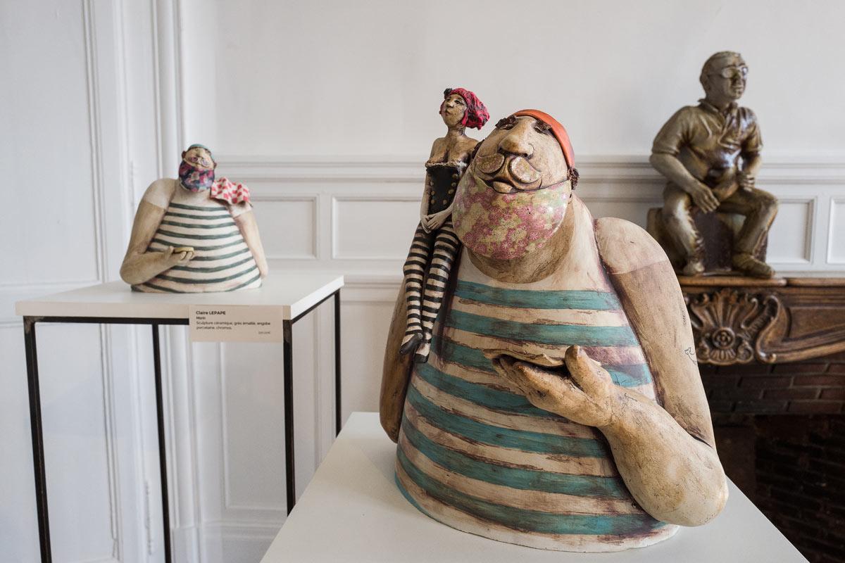 Claire Lepape, Marin, céramique - photo J-Y Le Dorlot