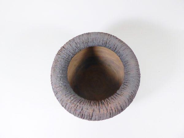 Bol en grès très chamotté - céramique - Claire Lecreux