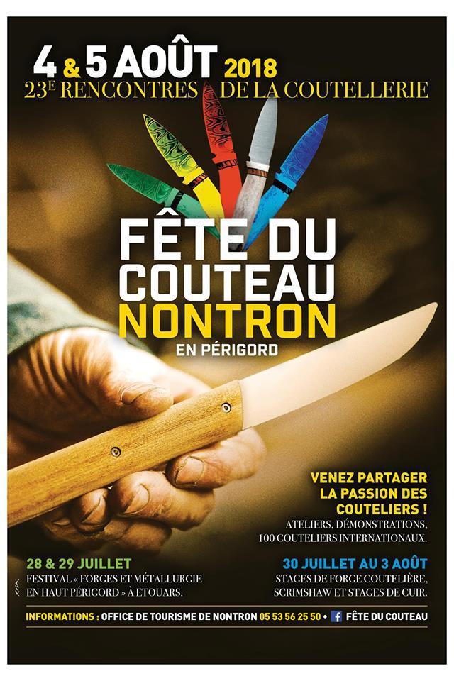La Fête du Couteau à Nontron 2018