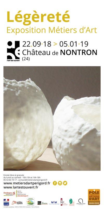 Légèreté – exposition métiers d'art à Nontron