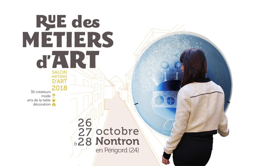 salon Rue des Métiers d'Art à Nontron, 2018
