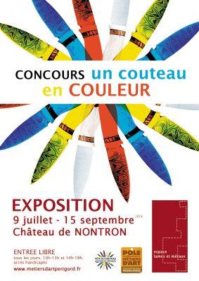 Concours Un couteau en couleur - 23e Fête du Couteau à Nontron, 2018