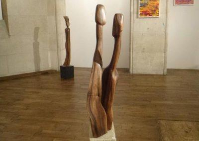 Ben Richer, sculpteur sur bois en Limousin
