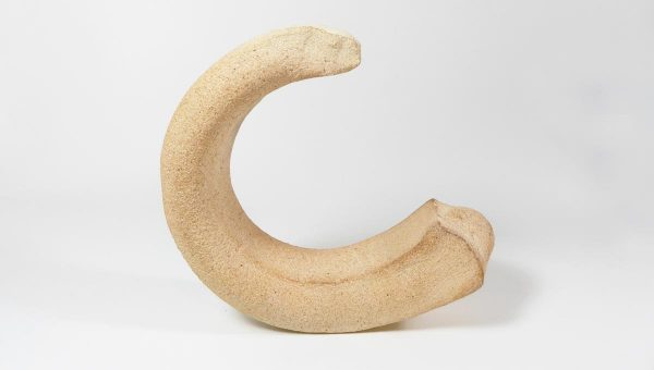 Sculpture croissant de lune - Laurent Weymeels