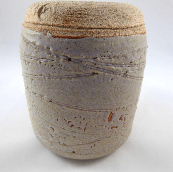 Vase à couverte réticulée
