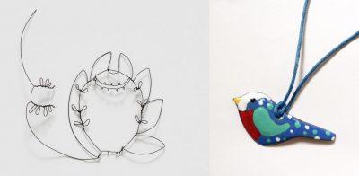 Ateliers émail et dentelle de métal par Amandine Barry et Armel Barraud