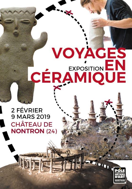 Voyages en céramique – exposition à Nontron