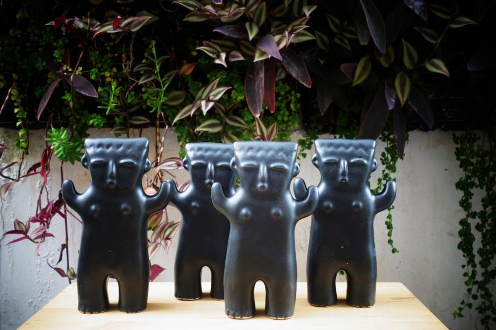 Cuchimilco en céramique par Patricia Masson