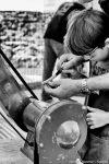 montage couteau de Thiers à nontron - photo Fabrice Clic clac Nontron