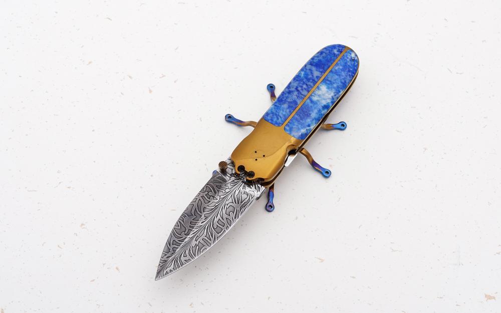 Couteau scarabée Christian Penot