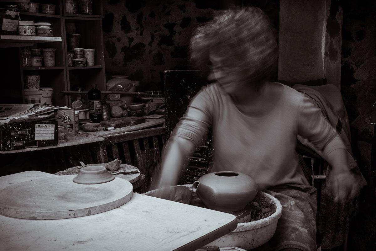 Kristiane Hink, céramiste ©Sabine A Hartert