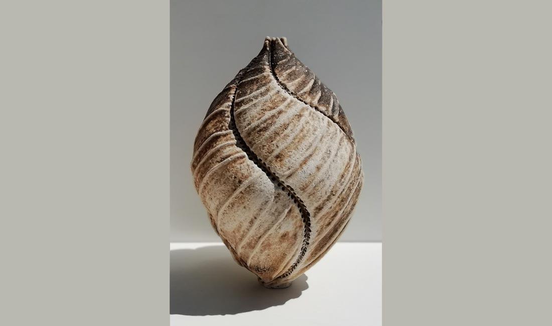 céramique de Denis Sardin - exposition Inspiration Nature à Nontron