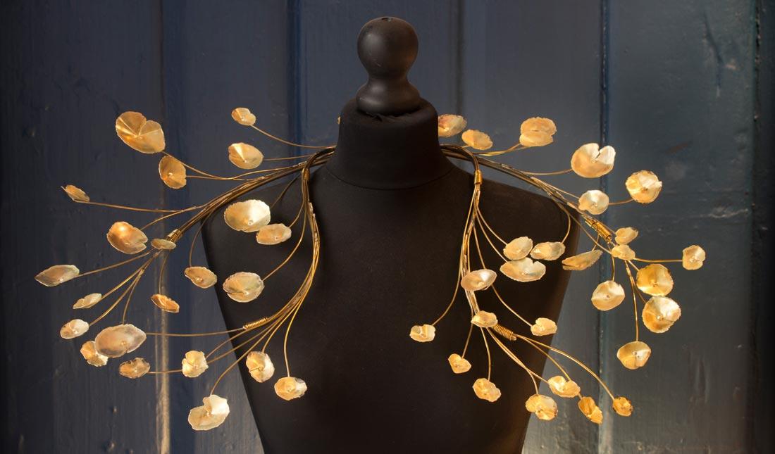 parure Marie-Paule Thuaud - exposition Inspiration nature Nontron