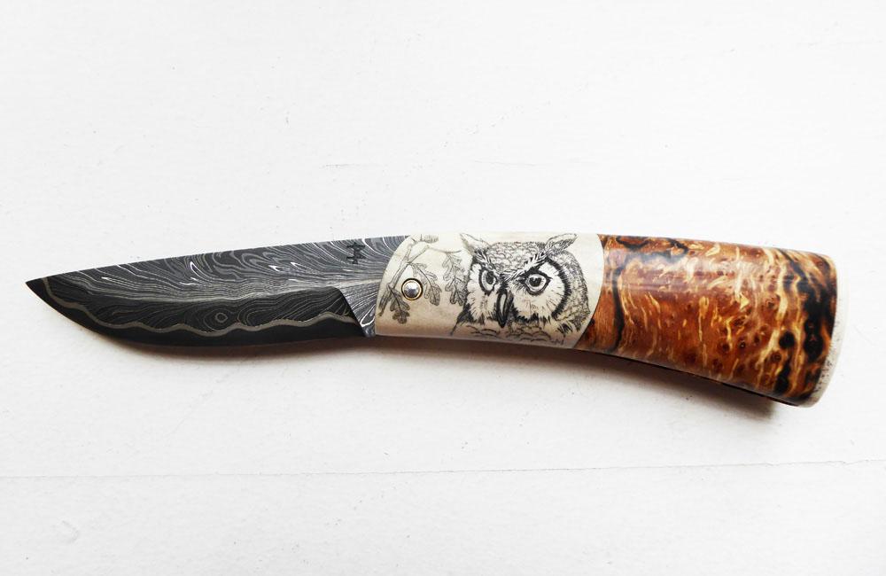 Couteau-concours-inspiration-nature-Hervé Manoury