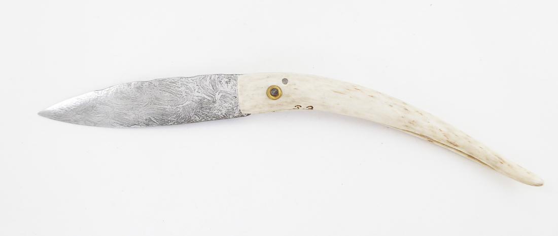 Couteau de Philippe Boyrie pour le concours Fête du Couteau à Nontron 2019