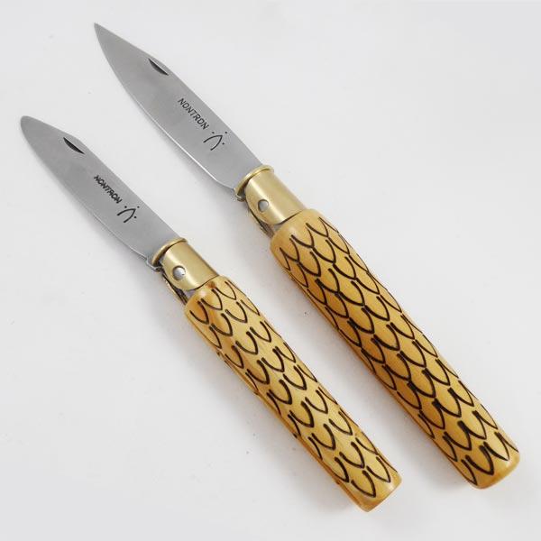 Coutellerie nontronnaise, couteaux Petit Duc et Grand Duc design Studio Monsieur, avec les Résidences de l'Art en Dordogne et le PEMA