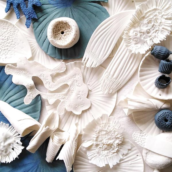 Moïna Courivaud, céramiste, décor et mobiles